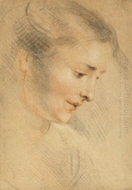 study of a woman s head