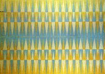 Iridescent Interpenetration No 4 Study Of Light 1912