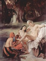 Bathing Bathsheba 1834