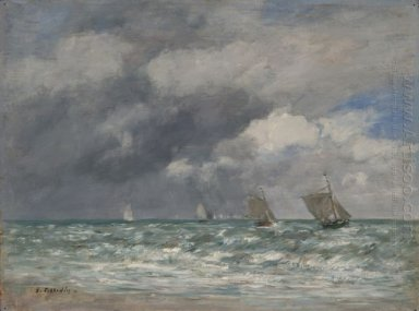 Sailboats At Trouville