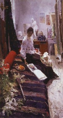 In The Artist S Studio 1892