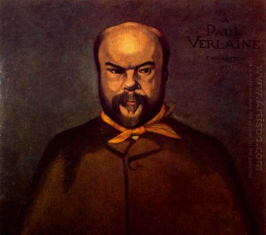 Portrait Of Verlaine 1902