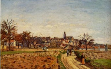 view of pontoise 1873