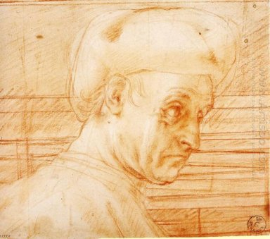 Study Of A Man Wearing A Hat