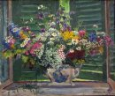 Still Life Wildflowers 1946