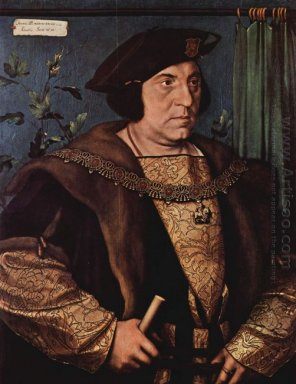 Portrait Of Sir Henry Guildford 1527