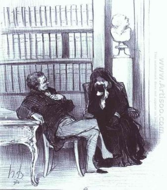 The Widow At A Consultation