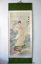 Guanyin - Mounted - Chinese Painting
