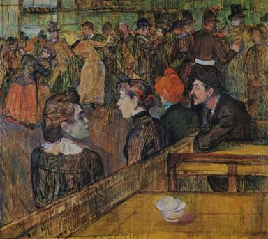 Ball At The Moulin De La Galette 1889
