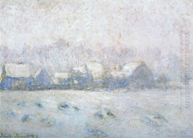 Snow Effect Giverny 1893