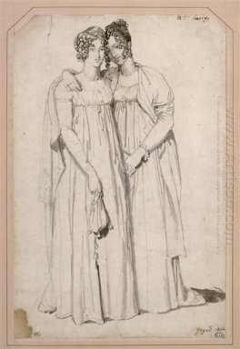 Henriette Harvey And Her Half Sister Elizabeth Norton 1