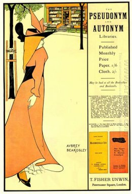 publicity poster for the yellow book