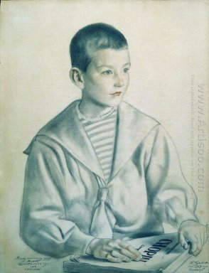 Portrait Of Mitya Shostakovich 1919