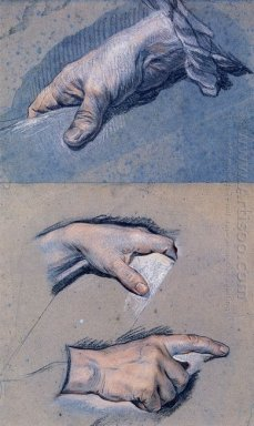 Studies Of Men S Hands