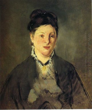 portrait of suzanne manet 1870