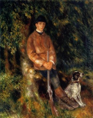 Alfred Berard And His Dog 1881