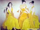 Beautiful Ladies - la pintura china