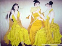 Beautiful Ladies - Chinese painting
