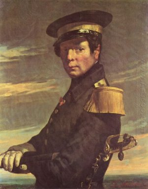 Portrait Of A Naval Officer