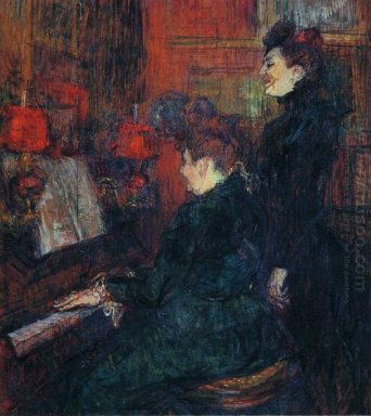 The Singing Lesson The Teacher Mlle Dihau With Mme Faveraud 1898