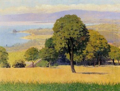 Outskirts Of Lausanne 1893