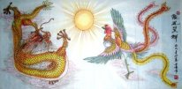 Dragon-Phoenix - Chinese Painting