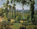 the countryside in the vicinity of conflans saint honorine 1874