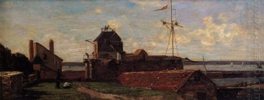 The Francois Ier Tower At Le Havre 1852