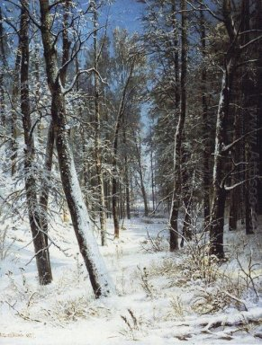 Winter In A Forest Rime 1877