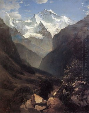 type in the swiss alps mount small ruhen 1862