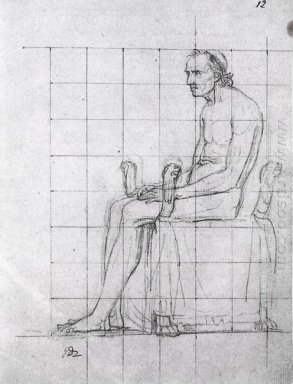 Nude Study Of Pope Pius Vii 1805