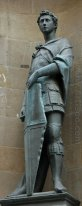 Statue of St. George in Orsanmichele, Florence