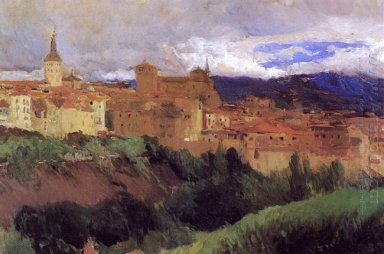 View Of Segovia 1906