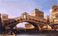 capriccio of the rialto bridge with the lagoon beyond 1746