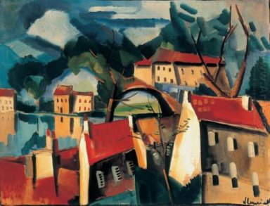 Village On The River 1915