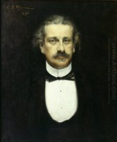 Portrait of Alexandru Odobescu