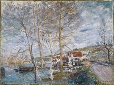 flood at moret 1879