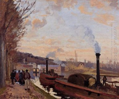 the seine at port marly 1872