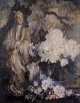 Still Life with Oriental Statue