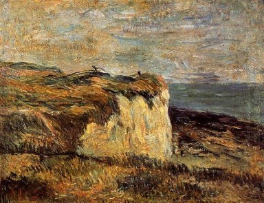 cliff near dieppe 1885