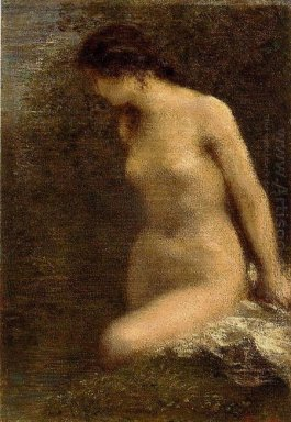 Small Brunette Bather 1884