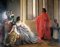Caterina Cornaro Deposed From The Throne Of Cyprus 1842