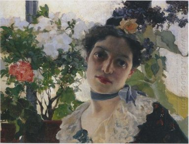 Portrait Of Clothilde 1891
