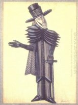 Costume design for Dickens Christmas Bells
