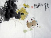 Birds-Longevity - Chinese Painting