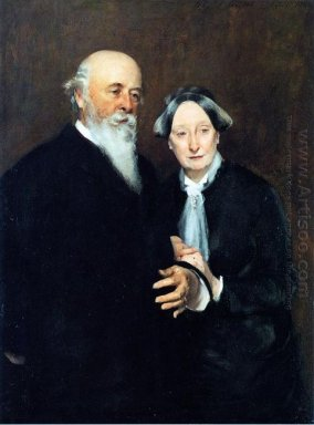 Mr And Mrs John W Field 1882