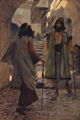 Saul Meets With Samuel 1900