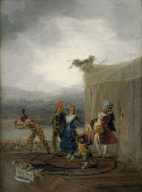The Strolling Players 1793