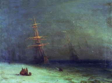 The Shipwreck On Northern Sea 1875 1
