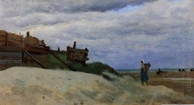 The Beach At Dunkirk 1857